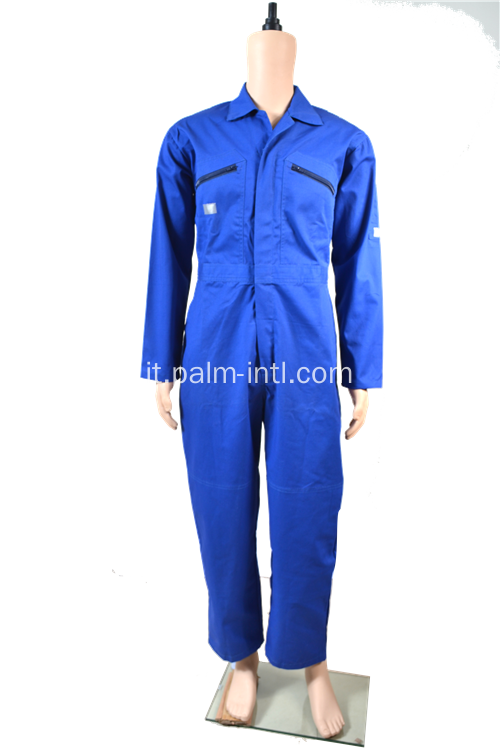 Polyeseter maschile / Cotone Coverall