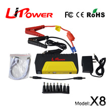 portable car emergency power supplier jump starter 13600mAh car jump starter for laptop auto
