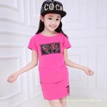 Vêtements pour filles en gros Vente chaude Costumes pour filles de haute qualité
