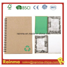 Spiral Notebook with Stone Waterproof Paper