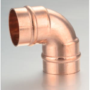 COPPER ELBOW SOLDER RING FITTING 90 GRAD