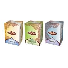 Boîte d'emballage en papier personnalisée élégante pour thé