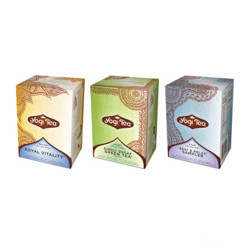 Custom Cardboard Promotional Tea Packaging Boxes