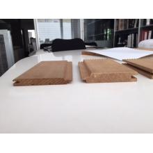 Paneles decorativos de revestimiento de madera de pared de exterior de alta calidad y interiores