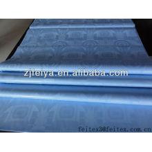 Сладкий Новый синий дамасской Shadda Гвинея парча хлопчатобумажная ткань Базен riche Африканского текстиля для свадьбы FEITEX