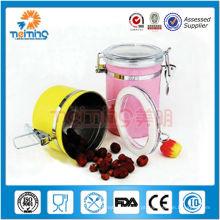Jogo de chá hermético do produto comestível / recipientes de armazenamento do alimento