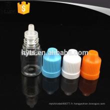 Vente chaude pet 3ml bouteille en plastique