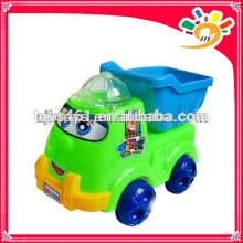 Cute Pull Line Cartoon Truck Toy,Plastic Cartoon Truck With Bell