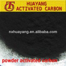 Venta caliente 200 malla de madera basado en polvo activado de carbón MSDS
