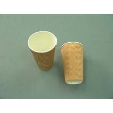 Кубок гофрированной бумаги, кубок рифлений