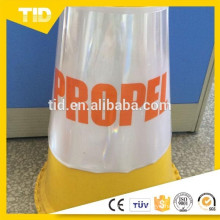 PVC Sleeve For Plastic Warning Traffic Cone