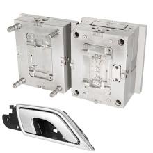 shenzhen molding maker customized auto chrome plastic injection mould auto parts car door handle mold