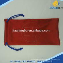 Planta impressão logotipo bolsa de óculos