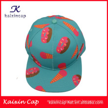 high quality new design ice cream printed snapback caps and hats best selling