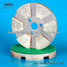 Discos de pulido de metal para hormigón, granito, mármol