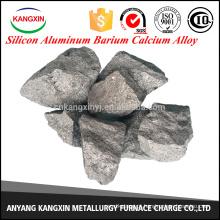 liga de cálcio de bário de silício e alumínio como desoxidante na fabricação de aço