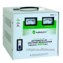 Gefertigte Tnd / SVC-3k Einphasenserie Vollautomatischer Wechselspannungsregler / Stabilisator