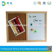 Placa branca do quadro da placa do meio para ensinar