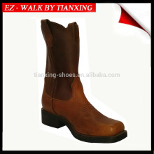 Bottes de cow-boy en cuir Square Toe