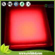 300 * 300mm RGB Epoxy Resign LED Stein Licht mit CE / RoHS / IEC Genehmigung