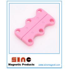 Lacets magnétiques occasionnels multicolores / boucles de chaussures