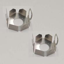 Piezas estampadas de chapa de metal estampado en frío galvanizado