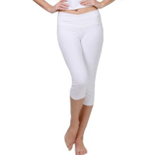 White Color Dry Fit Yoga Clothes Custom Yoga Pants