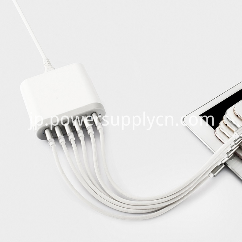 Multi Usb Desk Top Type C Charger
