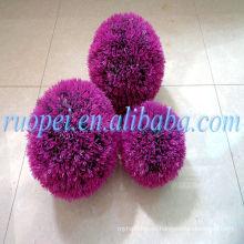 bola decorativa zorb de la bola de la hierba del ruopei del yiwu para la venta