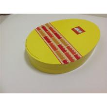 Caja de chocolate disciforme