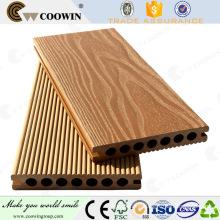 Outdoor wood plastic composite wpc floor decking in spain