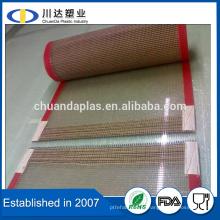 Tela de malha de fibra de vidro de PTFE de alta temperatura