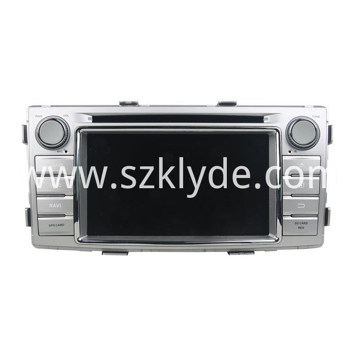Toyota Hilux android car dvd