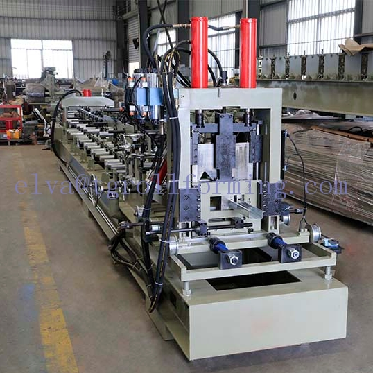 Intercâmbio CZ automático Purlin roll forming machine