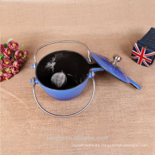 2015 New Customized Enamel Cast Iron Teapot Cast Iron Tea Kettle