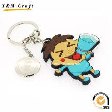 Cartoon Design Soft PVC Keyring for Promotion Ym1120