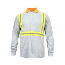 Hochsichtbares Baumwoll-Sicherheitst-shirt