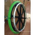 Rueda de silla de ruedas sólida de espuma de poliuretano 24X1 3/8