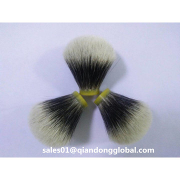 Bulb Shape 22mm Manchurian Badger Hair Knots