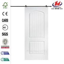 32 дюйма х 80 дюймов. Санта-Фе гладкая композитная дверь сарая с раздвижной дверью.