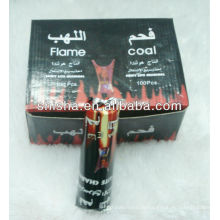 Flamme Kohle Runde Kohle Tablette