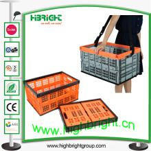 Caixa De Plástico De Armazenamento De Tomate Dobrável