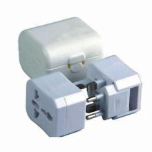 Universal/Multi-functional Travel Adapter with 125 to 250V AC, 6A Power Supply, CE RoHS Marks
