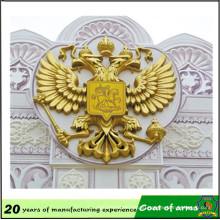 Metal Gold Eagle Russia National Emblem