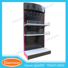 grocery store trade show commercial retail metal display shelf