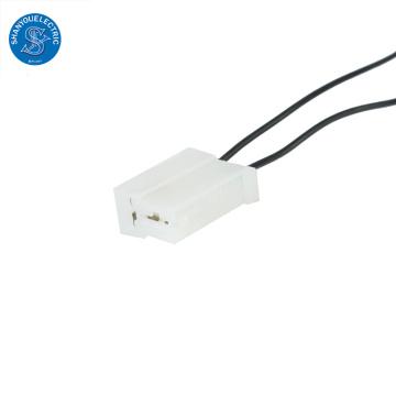 Harnais de fil personnalisé de connecteur femelle de 2 broches