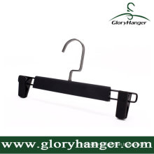 DIP Rubber Paint Plastic Pant Hanger with Two Clip