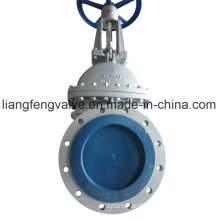 ANSI Rising Stem Flange End Gate Valve with Carbon Steel RF