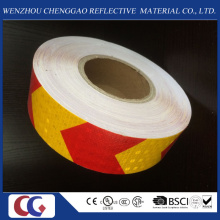 Ruban matériel réfléchissant de cristal de PVC de haute visibilité dans l'usine de la Chine