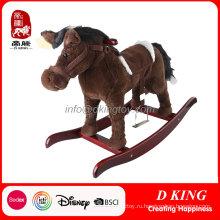 Весенняя Конная прогулка верхом на лошади игрушка для детей проходят испытание en71